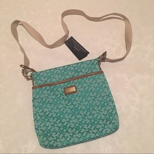 Tommy Hilfiger Turquoise Crossbody Handbag